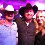 Garth Brooks, Buddy, and Andrea