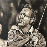 Arnold Palmer Painting by Buddy Owens