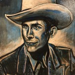 Hank Williams Painting by Buddy Owens