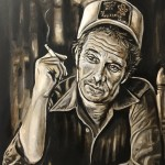Merle Haggard Painting by Buddy Owens