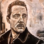 Sturgill Simpson Painting by Buddy Owens