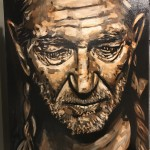 Willie Nelson Painting by Buddy Owens